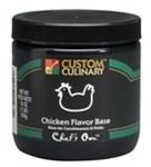 Custom Culinary Chefs Own Chicken Flavor Base Granules - 25 Lb.