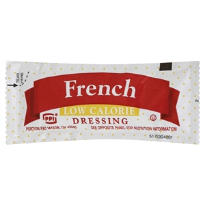 Portion Pac Low Calorie French Foil Dressing - 12 Grm.