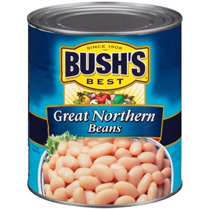 Bush Bros. Best Great Northern Bean in Brine 111 Oz.