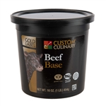 Custom Culinary Beef Base No Msg Added - 1 Lb.