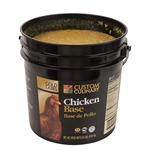 Custom Culinary Gold Label Chicken Base No Msg Added - 20 Lb.