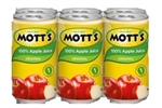 Motts Apple Regular Juice Aluminum Pack
