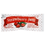 Portion Pac Strawberry Jam Foil Pouch - 0.5 Oz.