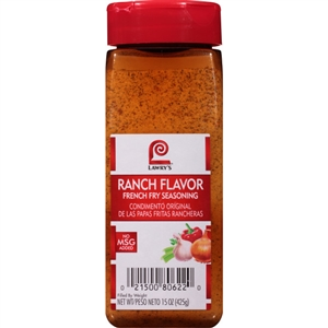 McCormick Lawrys Ranch Flavor 15 oz. French Fry Seasoning
