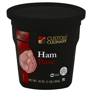 Custom Culinary Masters Touch Ham Base No Msg Added - 1 Lb.