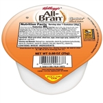 Kelloggs All Bran Complete Wheat Flakes Single Serve Cereal - 0.87 Oz.