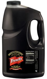 Frenchs Worcestershire Sauce - 1 Gal.