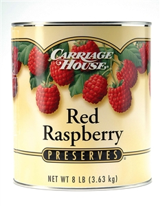 Carriage House Raspberry Preserves Red