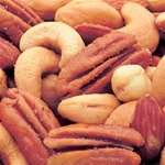Azar Deluxe Oil Roasted Salted No Nuts 2.38 Pound Mixed Nuts