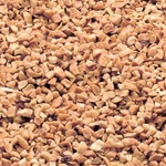 Azar Granules Dry Roasted Unsalted 2.5 Pound Topping Peanut
