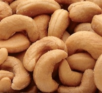 Azar Whole Oil Roasted 2 Pound Salted Cashew