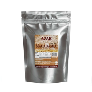 Azar Whole 2 Pound Raw Macadamias