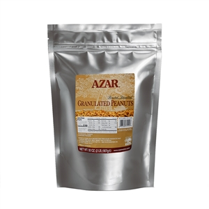 Azar Granules Topping 2 Pound Peanut