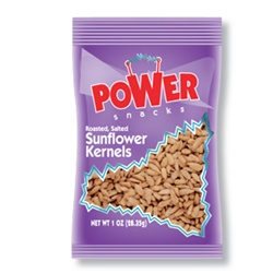 Azar Oil Roasted Salted 1 oz. Sunflower Kernels