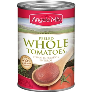 Angela Mia Whole Peeled Tomatoes - 102 oz.