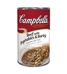 Campbell's Beef Barley Condensed Soup 50 Oz.