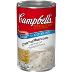 Campbell's Cream Of Mushroom Condensed Soup 50 Oz.