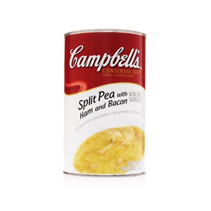 Campbell's Split Pea Ham and Bacon Condensed Soup 52 Oz.