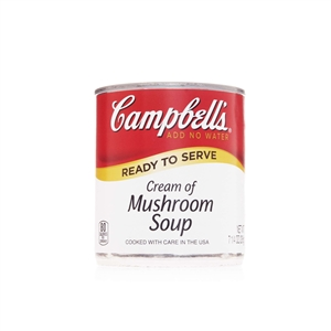 Campbell's Ready To Serve Easy Open Cream Mushroom Soup 7.25 Oz.