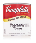 Campbell's Ready To Serve Easy Open Vegetable Soup 7.25 Oz.