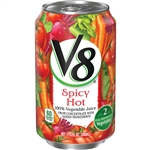 Campbell's V8 Spicy Hot Juice 11.5 Oz.