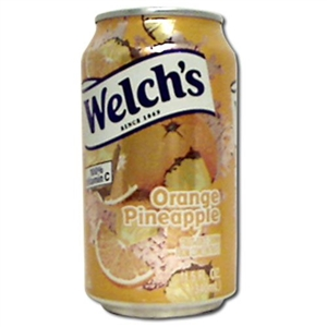 Welchs Orange Pineapple Drink - 11.5 Oz.