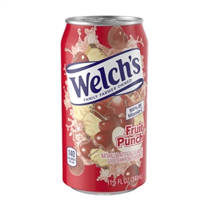 Welchs Fruit Punch Fluid Drink - 11.5 Oz.
