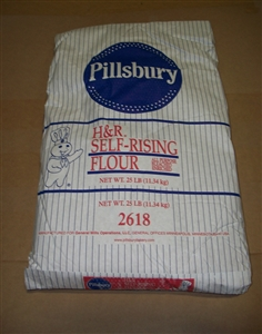 H and R All Purpose Self Rising Flour - 25 Lb.