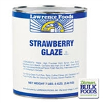Lawrence Foods Strawberry Glaze - 10 Can
