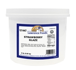 Lawrence Foods Strawberry Glaze - 0.75 Gal.