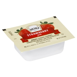 Heinz Single Serve Strawberry Jam - 0.5 Oz.