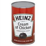 Heinz Cream Of Chicken Condensed Soup - 49.75 Oz. - 12 per case