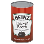 Heinz Chicken Soup Broth - 49.5 Oz.