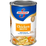 Campbell's Swanson Chicken Broth Soup 14.5 Oz.