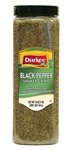 Durkee Peppers Black Shakers Ground - 16 Oz.