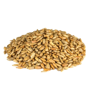 Azar Oil Roasted Salted 25 Pound Sunflower Kernels Nuts