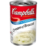 Campbells Condensed Soup Cream Broccoli - 10.75 Oz.