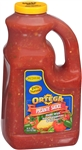 B and G Foods Ortega Picante 1 Gallon Medium Salsa