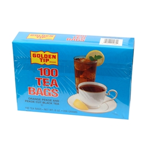 Eastern Golden Tip Blue With Tag Tea Bag
