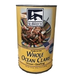 Whole Ocean Clams - 51 Oz.