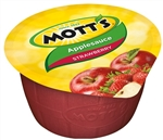 Motts Apple Sauce Strawberry Plastic Cups - 4 Oz.