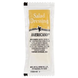 Portion Pac Americana Salad Tangy Dressing - 9 Grm.