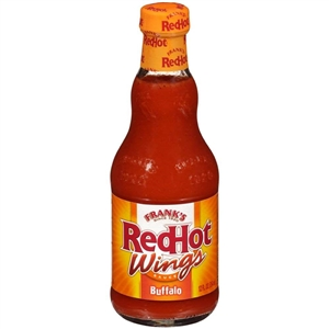 Frenchs Frank Red Hot Buffalo Wing Sauce - 12 Oz.