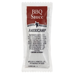 Portion Pac Americana Barbecue Sauce - 12 Grm.