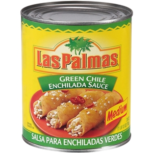 B and G Foods Las Palmas Enchilada 28 oz. Green Chili Sauce