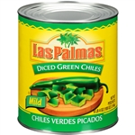 B and G Foods Las Palmas 99 oz. Green Diced Chilies