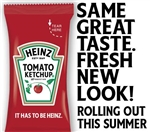 Heinz Single Serve Ketchup - 7 Grm.