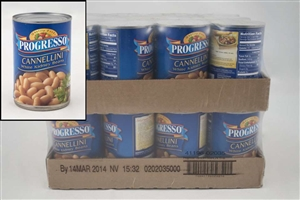 General Mills Progresso Canelini Bean White - 15 Oz.