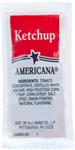 Portion Pac Americana Ketchup Fancy Polypropylene - 7 Grm.