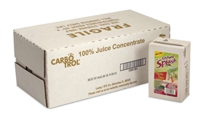 Leahy IFP Carbotrol Aseptic 100 Percentage Apple Juice 25 oz.